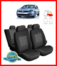 Tailored seat covers for Volkswagen Golf Mk6   2008 - 2013  FULL SET grey3 (205)