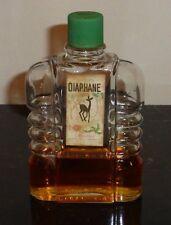 RARE Lasegue 1920's DIAPHANE Lotion Bottle Paris Havana, Cuba Pre-Revolution