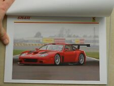 Ferrari 575 GTC 2005 Racing car Broschure Prospekt Depliant no press book buch