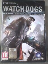 Watch Dogs Special Edition Pc Eccellente 1a Stampa Italiana Completo 3 Dischi