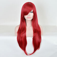 Who Framed Roger Rabbit Jessica Rabbit Cosplay Long Straight Hair Red Wigs