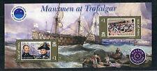 isola di man 2005 bf 52 bicentenario battaglia trafalgar MHN