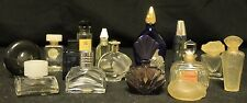 Lot of 16 Empty Perfume Bottles Minis France Paris Older Givenchy Xeryus Galion