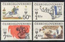 Checoslovaquia 1983 Children's Books/Caballos/Aves/Hansel/Gretel 4v Set (n39411)