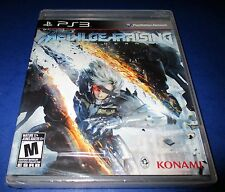 Metal Gear Rising: Revengeance Sony PlayStation 3 *Factory Sealed! *Free Ship!