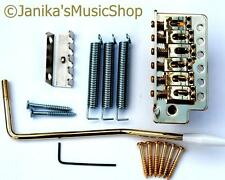 Stratocaster type guitar tremolo bridge vibrato unit full parts kit gold st new