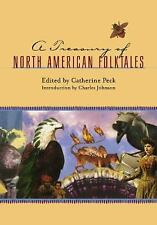 A Treasury of North American Folktales-ExLibrary