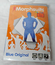 Halloween Morphsuits Blue Adult XL Movies Green Screen Parties See Drink Thru 7K