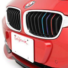 New - 18 BMW M Power Grill Decal Kidney Sticker Emblem M3 M4 M5 M6 X1 X3 X4 X5