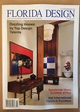 Florida Design Dazzling Homes Spectacular Views Vol 24 #3 2014 FREE SHIPPING!