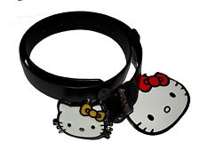New Girls Official Licensed Hello Kitty Black PU Belt Age 4-8 Years Belts