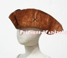 Halloween Funny Cute Corsair Pirate Freebooter Hat Party Costume Size For Child