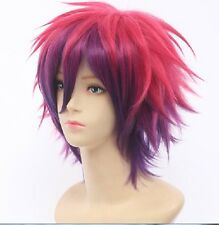 No Game No Life Sora Short Anime Cosplay Costume Wig + Free Wig CAP