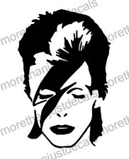 David Bowie Ziggy Stardust Vehicle Car Decal Sticker Laptop  10 x 15cm