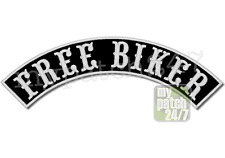 Un écusson Biker patch free biker Arc-Haut 30cm stick top rocker BLOUSON MC Badge