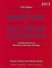 THE DIRECTORY OF MAIL ORDER CATALOGS 2013 - NEW PAPERBACK BOOK