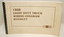 988 Light Duty Truck Wiring Diagram Booklet ST-350-88