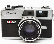 Canon Canonet QL17 GIII 35mm Film Rangefinder Camera with 40mm F/1.7 Lens