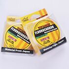 New! Fluorocarbon Fishing Line 4.4LB-35.2LB Color Clear Material From Japan