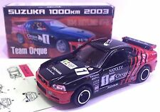 JAPAN TOMY TOMICA TEAM ORQUE NISSAN SKYLINE GTR GT-R R34 RACING CAR 1/61 DIECAST