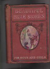 Beautiful Bible Stories for Boys & Girls Aunt Prudence 1900s