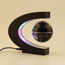 C shape LED World Map Decoration Magnetic Levitation Floating Globe Light FE