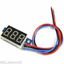 Digital LED Voltmeter Panel Volt DC 0-200V Voltage Meter (Red)