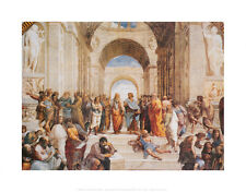 The School of Athens, c.1511 (detail) Art Poster Print by Raphael , 14x11
