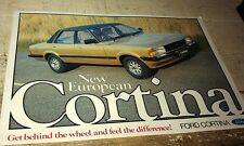 1979  ?   FORD CORTINA   New Zealand Sales Leaflet VERY RARE