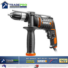 Electric Drill Impact 600w Worx PRO Power 13mm Chuck V/Speed Driver 2017 Model