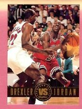 1993-94 Skybox Showdown Series #SS11 Drexler vs Jordan