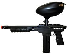 New BK Spyder Hammer 7 Pump First Strike Paintball Gun with Proto Primo Hopper