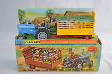 Corgi Toys GS1 GS 1 Original 1960s Ford 5000 with beast carrier Superb example