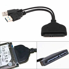 "*USB 3.0 To SATA 2.5"" External HDD SSD Hard Disk Drive Adapter Converter Cable*1"