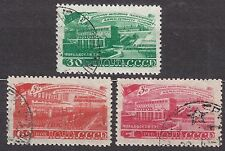 RUSSIA SU 1948 USED SC#1277/79 Electrification five-year plan.