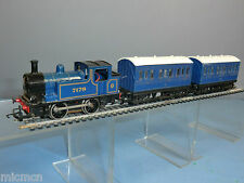 HORNBY RAILWAYS MODEL No.R.255 0-4-0T PASSENGER TANK  LOCO & PASSENGER COACHES