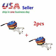 2x SG90 Mini Gear Micro 9g Servo For RC Helicopter Airplane Car Boat for Arduino