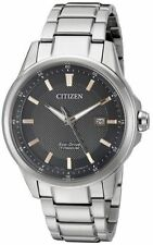 NEW Citizen Eco Drive AW1490-50E Rose Gold Tone Titanium Men's Watch
