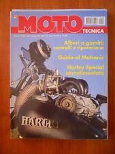 MOTO TECNICA n°7-8 1995 Guida al Motronic Harley Speciale sovralimentata  [P72]