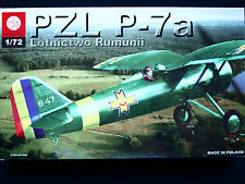 PZL P-7A ROMANIAN AIR FORCE FIGHTER, ZTS PLASTYK, SCALE 1/72
