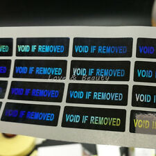 100 Hologram VOID IF REMOVED Security Tamper Evident Warranty Stickers