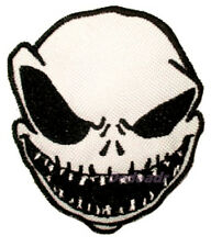 The Nightmare Before Christmas Jack Skellington Head Embroidered Patch Burton