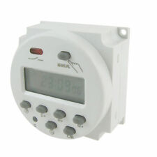 UK - DC 12V Digital LCD Power Programmable Timer Time Switch Relay 16A Amps