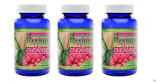 Raspberry Ketone Cleanse Total Body Detox Weight Loss Diet Colon Support 1600mg