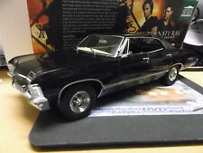 CHEVROLET Impala Sport sedan 1967 SUPERNATURAL black Film Greenlight TV 1:18