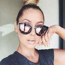 NEW QUAY My Girl  Black Tortoise/Pink Mirror Sunglasses