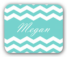 Chevron Blue Personalized Anti-Slip Mouse Pad Mat Mice Mousepad