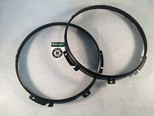 Wipac Land Rover Defender Headlight Headlamp Bezel Black x2  STC3018