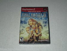 Final Fantasy XII Greatest Hits PlayStation 2  Sealed Unopened FREE SHIPPING