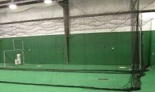 Baseball Batting Cage Net Netting #42 (54 ply)  HDPE 12' x 12' x 55'